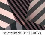 abstract 3d rendering of... | Shutterstock . vector #1111640771