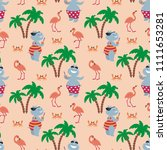 children s seamless pattern... | Shutterstock .eps vector #1111653281