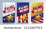 usa independence day sale... | Shutterstock .eps vector #1111667921