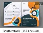 business brochure background...   Shutterstock .eps vector #1111720631