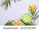 natural herbal soothing gel... | Shutterstock . vector #1111722785