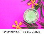 natural herbal soothing gel... | Shutterstock . vector #1111722821