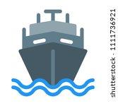 defence navy ship | Shutterstock .eps vector #1111736921