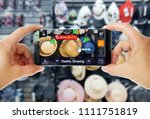 augmented reality concept... | Shutterstock . vector #1111751819