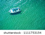 aerial photo of a lonely... | Shutterstock . vector #1111753154