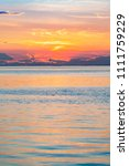 Small photo of Sunset at Trieste, Friuli Venezia Giulia, Italy