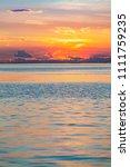Small photo of Sunset at Trieste, Friuli Venezia Giulia, Italy