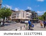tel aviv yafo  israel   june 6  ... | Shutterstock . vector #1111772981