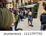 toledo  spain   june 3  2018 ... | Shutterstock . vector #1111797755