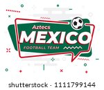 speech bubble mexico with icon... | Shutterstock .eps vector #1111799144