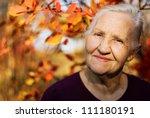 Portrait Of The Smiling Elderl...