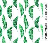 watercolor seamless pattern... | Shutterstock . vector #1111819031