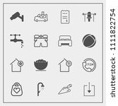 modern  simple vector icon set...   Shutterstock .eps vector #1111822754
