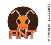 ants logo  vector illustration | Shutterstock .eps vector #1111828589