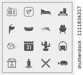 modern  simple vector icon set... | Shutterstock .eps vector #1111836317