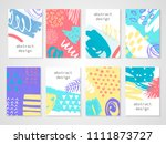 abstract colorful backgrounds... | Shutterstock .eps vector #1111873727