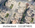 aerial view of a traditional...   Shutterstock . vector #1111874831