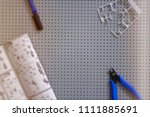 tools for modeling  robotics ... | Shutterstock . vector #1111885691