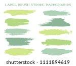 isolated label brush stroke... | Shutterstock .eps vector #1111894619