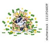 vector isolated emoji character ... | Shutterstock .eps vector #1111926839