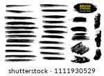 large set different grunge...   Shutterstock .eps vector #1111930529