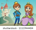 illustration of happy little...   Shutterstock .eps vector #1111944404