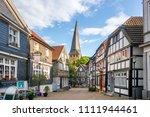 hattingen  old city  germany  | Shutterstock . vector #1111944461
