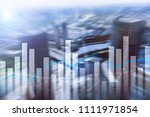 financial growth  business and... | Shutterstock . vector #1111971854