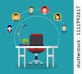 community social media people   Shutterstock .eps vector #1111992617