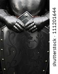 armour of the medieval knight | Shutterstock . vector #111201644