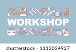 workshop word concepts banner.... | Shutterstock .eps vector #1112024927