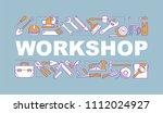 workshop word concepts banner.... | Shutterstock .eps vector #1112024927