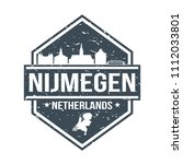 nijmegen netherlands travel...   Shutterstock .eps vector #1112033801