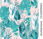 Soft Pastel  Botanical Jungle...