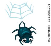 cartoon vector spider spider...   Shutterstock .eps vector #1112051201