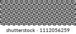 horizontal black and white... | Shutterstock .eps vector #1112056259