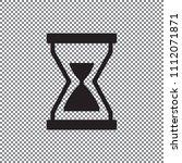 illustration of hourglass icon...