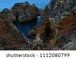 amazing and unique cliffs... | Shutterstock . vector #1112080799