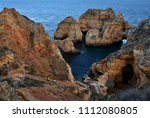 amazing and unique cliffs... | Shutterstock . vector #1112080805