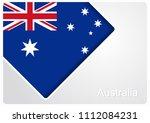australian flag design... | Shutterstock .eps vector #1112084231