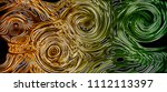 chromatic chaos  abstract... | Shutterstock . vector #1112113397