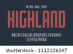highland vector condensed... | Shutterstock .eps vector #1112126147