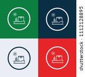 shipping vector icon | Shutterstock .eps vector #1112128895