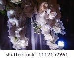 beautiful wedding flower... | Shutterstock . vector #1112152961