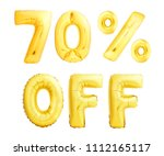 seventy percent off discount... | Shutterstock . vector #1112165117