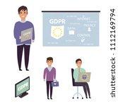 european general data... | Shutterstock .eps vector #1112169794