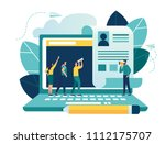 vector illustration  small... | Shutterstock .eps vector #1112175707
