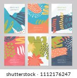 abstract colorful backgrounds...   Shutterstock .eps vector #1112176247