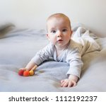 baby in a bright room | Shutterstock . vector #1112192237
