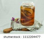 healthy homemade fermented raw... | Shutterstock . vector #1112204477